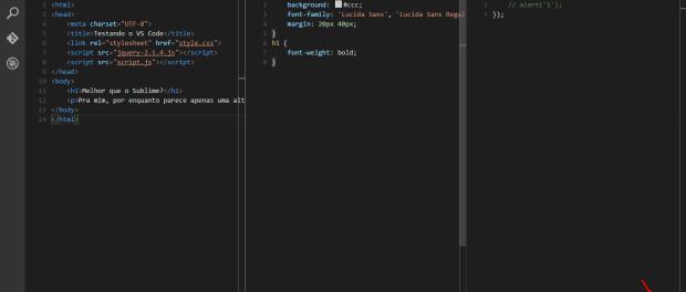 Mudar linguagem VS Code