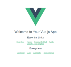 Hello World Vue.js